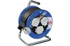 Brennenstuhl 1078183004 Compact 3-way Socket Cable Reel (15m)