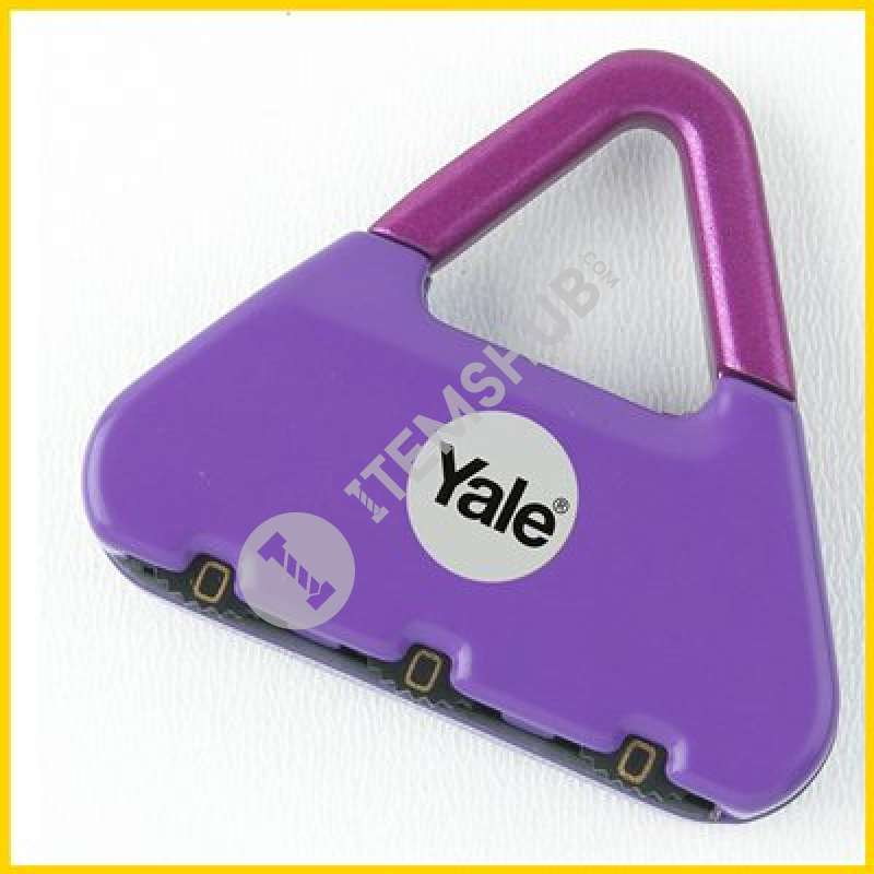 Yale Combination Padlock Y-Novelty-1 Party Girl