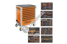 Beta 2400 S-O8/E-XL-Roller Cab C24S/8 + 384 Pcs Tools