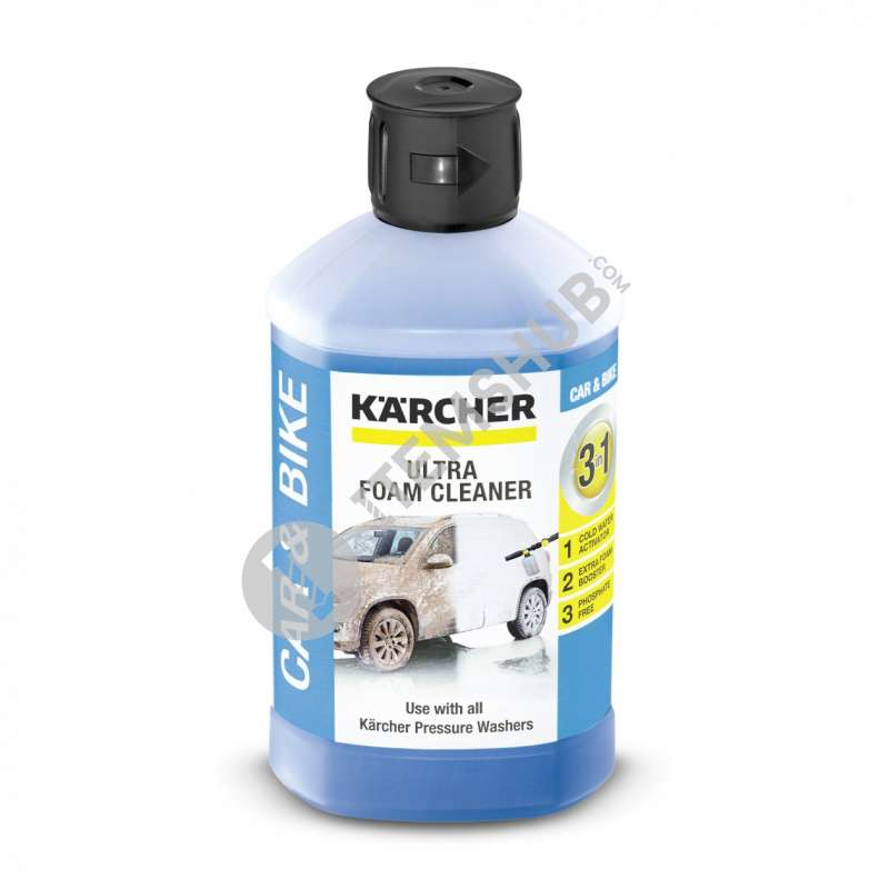 Karcher 3-in-1 ultra foam cleaner, 1 l