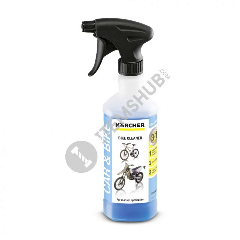 Karcher 3-in-1 bicycle cleaning detergent, 500 ml