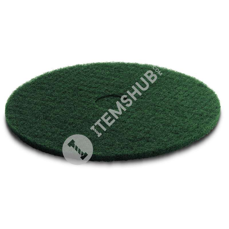 "Karcher Disc Pads Green/17"" Bd44"