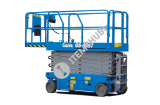 Genie Gs-4047 Self Propelled Scissor Lift W. Height 13.70Mtr