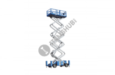 Genie Gs5390RT Scissor Lift Working Height 59Ft/18.15M