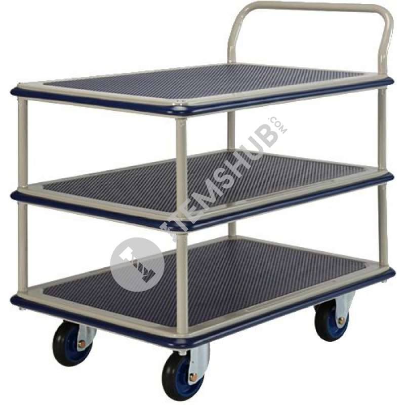 Prestar NF-315 Triple Deck Single-Handle Trolley