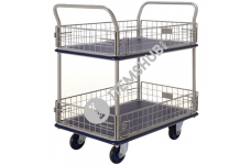 Prestar Hand Trolley NF-327 Double Deck Dual-Handle Type