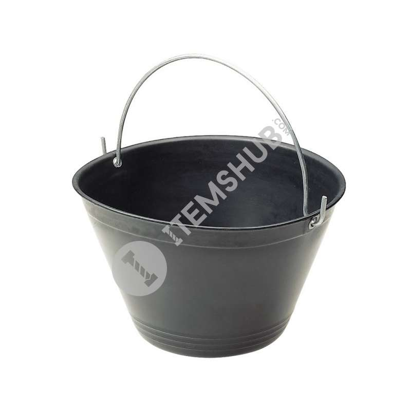 Kapriol Plastic Bucket 34cm Dia Black