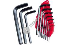 Stanley 0-69-253 Straight Male Elbow Hex Key 10 Piece Set