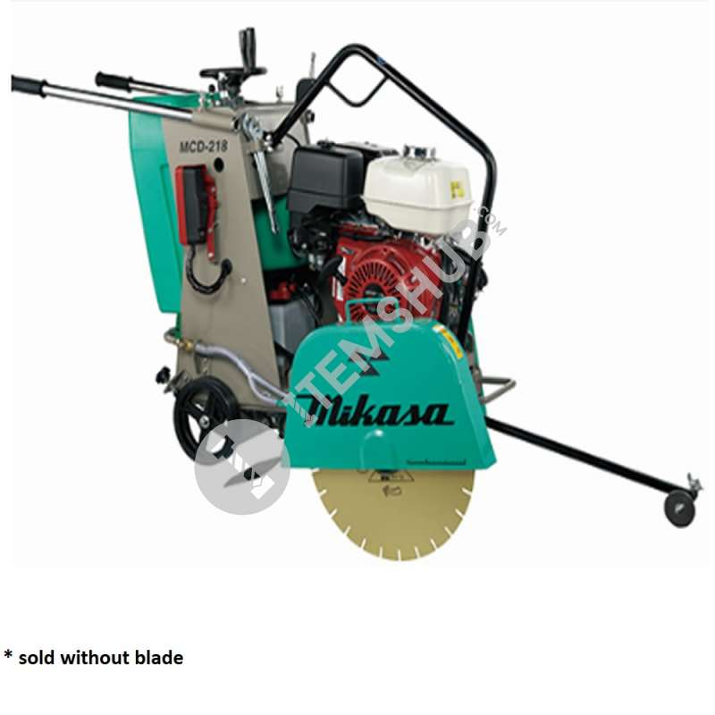 """Mikasa MCD-218CEH Concrete Cutter 18"""" Without Blade Honda Engine"""