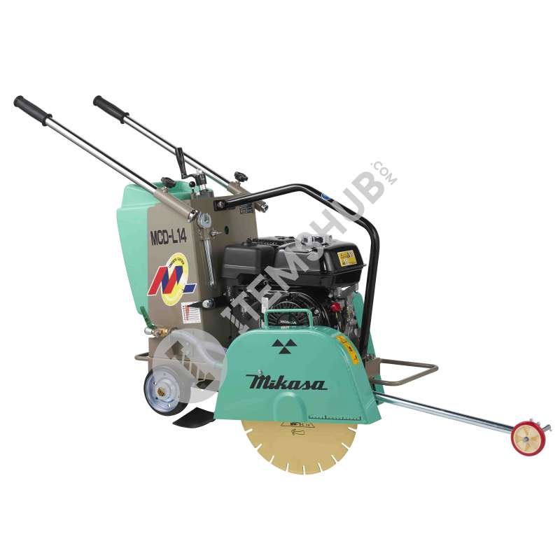 "Mikasa MCD-L14 Concrete Cutter (Gasoline Honda) 14"" Without Blade"