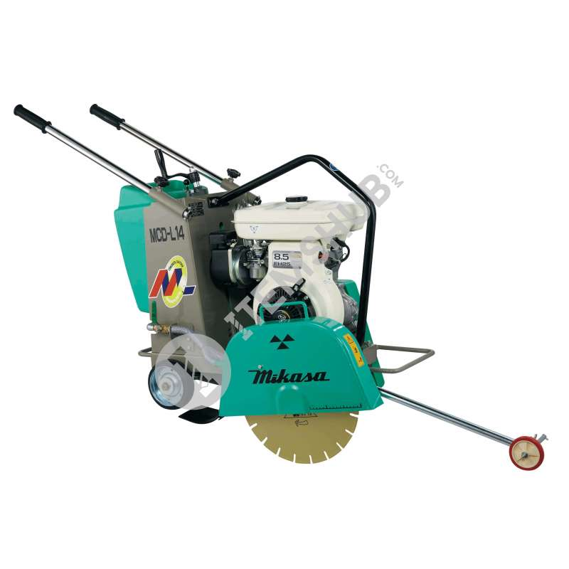 "Mikasa MCD-L14 Concrete Cutter (Gasoline) 10-14"" Without blade"