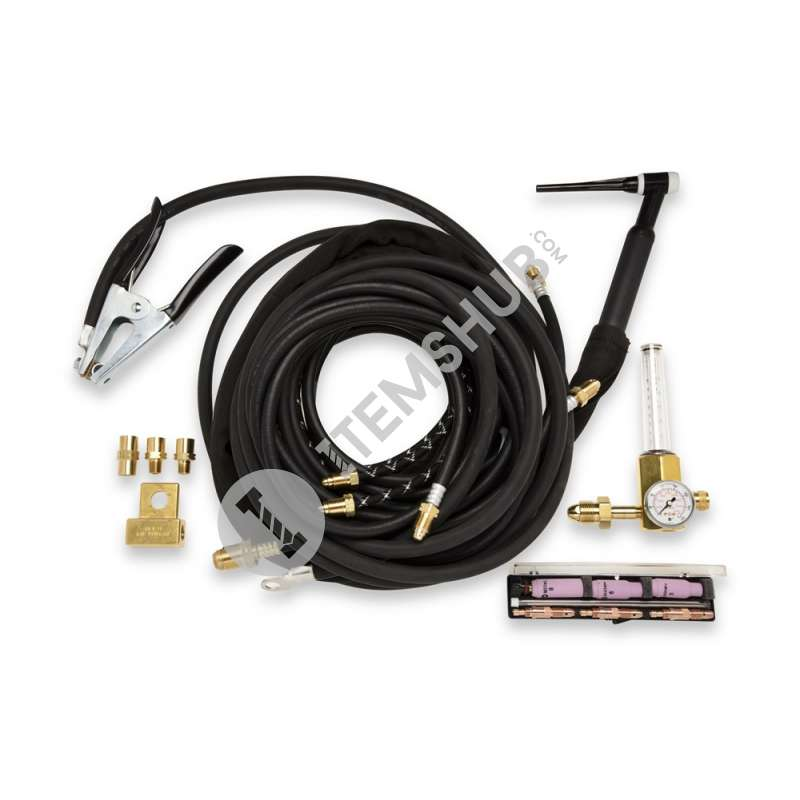 Miller WTP18MR Braided 350A Torch Package Outfit 25FT (7.6M) (Water Cooled)