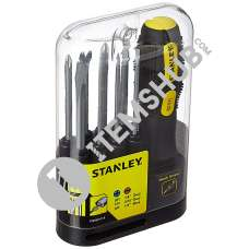"Stanley 0-62-511 9 Oc, Mult. Func.Set Phillip Std 1/8"",3/16"".1/4"" 