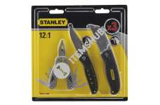 Stanley STHT0-71029 3Pack Multi Tool And Knife Set