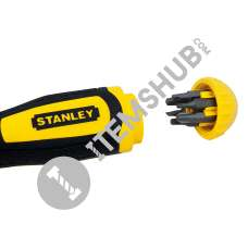 Stanley 0-68-010 Multibit Ratcheting Screw Driver