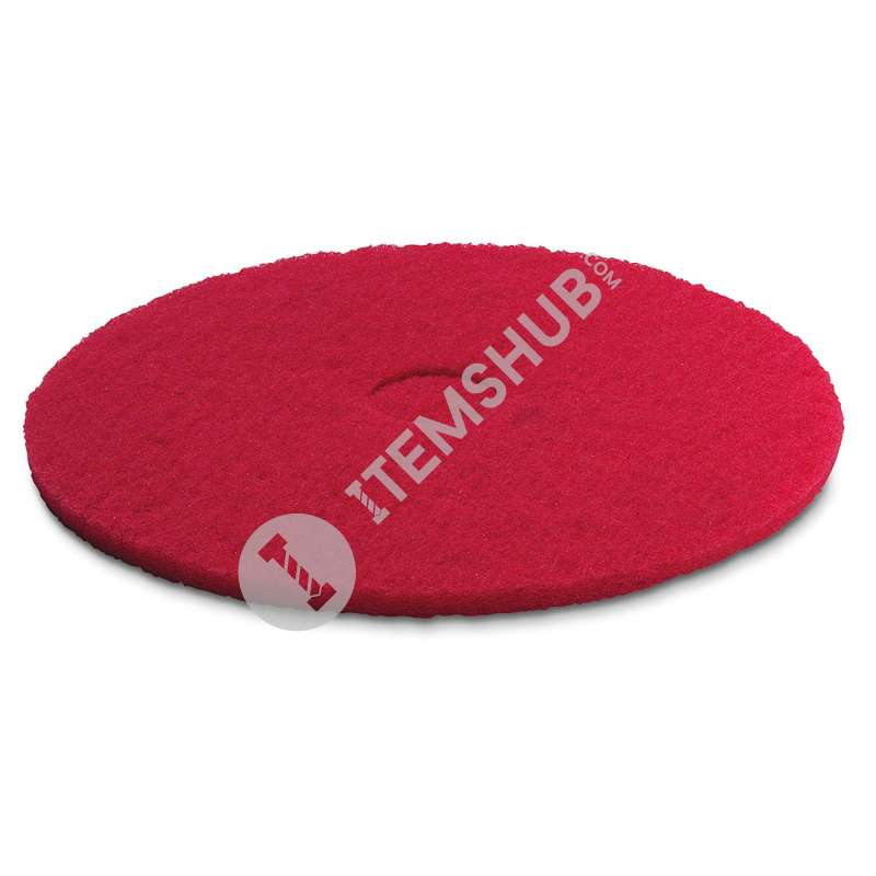 Karcher Medium-Soft Pad, 508 mm Diameter, Red