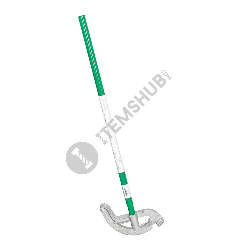 "Greenlee 840H Iron Hand Bender With Handle For 1/2"" Emt"