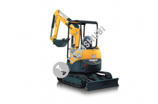 Yanmar Vio 20-3 (Rubber ) W/o Quick Hitch Mini Excavator