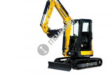 Yanmar Vio 35-6B (Rubber Track)Swing Mini Excavator With QH
