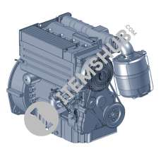 Deutz Engine D 2011L03i  (3 - Cylinders)